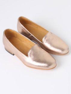 Dieppa Restrepo Dandy Loafer | Rose Gold
