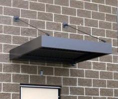 Flat Metal Awnings & Canopies St Louis | Canopy Replacement Saint ...