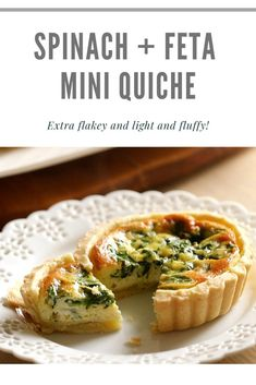 Delicious mini quiches allow you to make one quiche batter and then add toppings of your choice. This approach pleases everyone! A great recipe for brunch or Mother's Day! Mini Quiche Recipes, Veggie Recipes, Wine Recipes, Cooking Recipes, Easy Brunch Recipes, Great Recipes, Breakfast Recipes, Spring Recipes, Easter Recipes