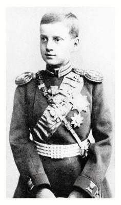 "romanovsonelastdance: ""Little Grand Duke Dmitri Pavlovich of Russia. """
