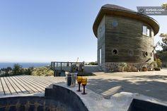 Beautiful boat-house in the beach in Algarrobo, Chile