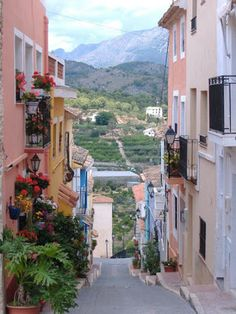 Que Majetazo  !   Like it...   Guadalest..Alicante..Spain