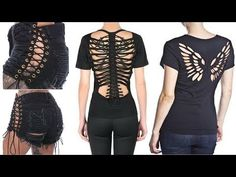 AWESOMELY EASY Clothes Life Hacks 2017 DIY T-Shirt Crafts DIY Ideas for Girls DIY Room Decor - YouTube