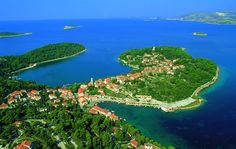 Cavtat, home of Vlaho Bukovac and our favorite lunch in Croatia.