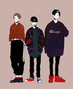 Haikyuu Ushijima, Kageyama Tobio, Shimizu Kiyoko, Character Art, Character Design, Haruichi Furudate, Oc Drawings, Boy Illustration, Drawing Clothes