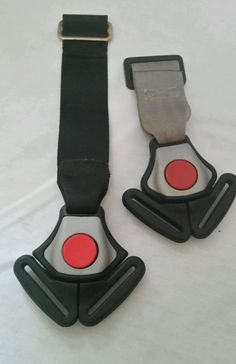 1x Baby Trend Flex Loc Infant Baby Car seat Crotch Strap Buckle Silver Black #BabyTrend