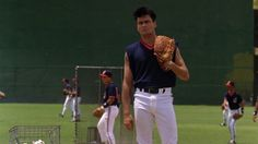 Ricky Vaughn - Major League Charlie Sheen, Jimmy Chin, Baseball Movies, Wanted Movie, Becoming A Writer, Baseball Pictures, Film Music Books, Cleveland Indians, Baseball Players