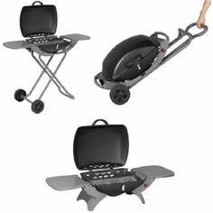 PRO JARDIN - Barbecue gaz trolley - Barbecue gaz trolley: Amazon.fr: Jardin