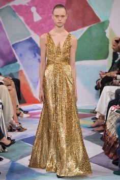 Schiaparelli Fall 2016 Couture Fashion Show - Frida Westerlund