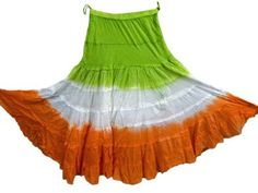 "Tie Dye Fashion Gypsy Skirt Green White Orange Cotton Full Flare Skirt 40"" Tie-Dyed, http://www.amazon.com/gp/product/B008Q3K4OK/ref=cm_sw_r_pi_alp_Vgsmqb1GCFATX"