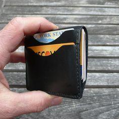 GARNY Leather card case No 9 / Simplified wallet by garnydesigns
