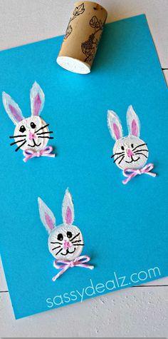 idée pour faire des têtes de lapin