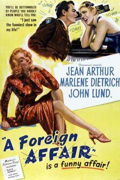 Image result for a foreign affair movie 1948