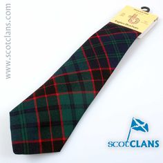 Stewart Old Modern Tartan Tie. Free Worldwide Shipping Available