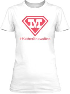 Supermoms wear their personal statement | Teespring - Are you a supermom? Do you know of a supermom? Get her one of these in a variety of styles.