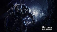 Batman Worst Nightmare Wallpaper from Batman: Arkham Origins by BatmanINC on deviantART Batman And Batgirl, Im Batman, Batman Arkham, Batman Armor, Dc Comics Characters, Fictional Characters, Batman Wonder Woman, Batman The Animated Series, Arkham City