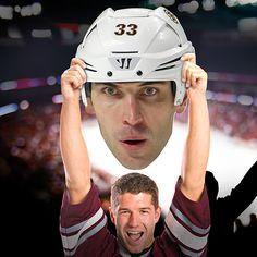 Zdeno Chára athead Big Head Cut Outs | Boston bruins Game Day