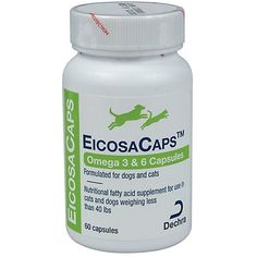 EicosaCaps - For Dogs & Cats up to 40 pounds - 60 capsules --- To check this awesome product by going to the link at the image. (This is an affiliate link and I receive a commission for the sales)