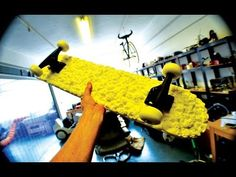 Check out Sam Abbot's amazing 3D printed skateboard! via 3DPRINTUK