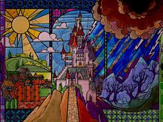 Stained+Glass+Castle+&+Scenery