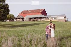 Love these photos, but I could be partial since this is where I got married! :) Rustic & Vintage Engagement Photography - Weston Red Barn Farm - MO