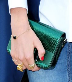 Stack 'Em Up! Wear Multiple Rings Like These Style: Gabriella Wilde