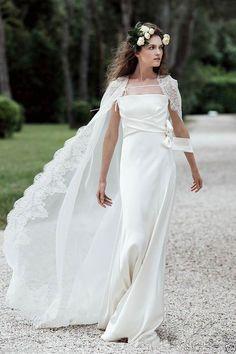 2016 Lace Wrap Wedding Jacket Bridal Cloak Lace Fall Winter Bridal Dress s  Capes 25bea48d60e