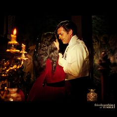 """Scarlett: """"Take your hands off me, you drunken fool."""" Rhett: """"You know I've always admired your spirit, my dear. Old Movies, Great Movies, Classic Hollywood, Old Hollywood, Rhett Butler, Scarlett O'hara, Tomorrow Is Another Day, Vivien Leigh, Clark Gable"""