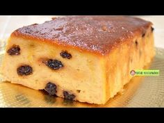BUDIN DE PAN O PUDIN SIN HORNO super FACIL| ROSVI HERNANDEZ - YouTube Oven Recipes, My Recipes, Mexican Food Recipes, Spanish Desserts, Grill Oven, Barbie Cake, Flan, No Bake Desserts, French Toast