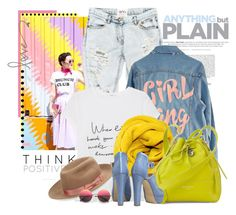"""Sem título #2550"" by bellerodrigues ❤ liked on Polyvore featuring Oui, OneTeaspoon, High Heels Suicide, MANGO, Aspinal of London, Genie by Eugenia Kim and Bionda Castana"