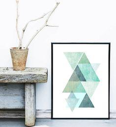Geometric Print Printable Art Grey Chevron by exileprints on Etsy Geometric Poster, Geometric Wall Art, Abstract Wall Art, Navy Blue Wall Art, Affordable Wall Art, Scandinavian Art, Wall Art Designs, Minimalist Art, Modern Wall Art