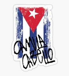Camila Cabello Cuba Pegatina