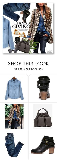 """""""Home for Thanksgiving"""" by svijetlana ❤ liked on Polyvore featuring Citizens of Humanity, polyvoreeditorial and thanksgiving"""