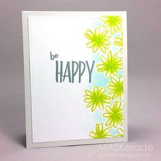 CC68 - Be Happy   MASKerade   Bloglovin'