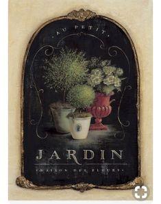 Topiary Garden Art Print by Angela Staehling - Posters Vintage, Vintage Images, Vintage Prints, Vintage Art, Topiary Garden, Garden Art, Canvas Art, Canvas Prints, Art Prints