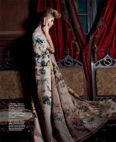 Elena Perminova by Eric Guillemain for InStyle Russia.