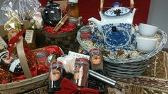 Spices, Soup & Tea Gourmet Gift Baskets. All hand crafted in small batches. www.lovethatspice.com