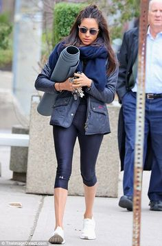 Famed for their weather-proof outerwear, you might not think classic English brand Barbour would be glamorous Meghan's first fashion choice. But she is often spotted in a £200 waxed or £129 Flyweight Cavalry quilted jacket
