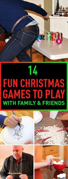 Christmas is the time of the year when the all of the family come together, so it's the best time to play some fun games. Playing group games will give you tons of fun and bring you closer to your family members. Here is our collection of the best games you can play with family and friends at Christmas.