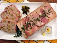 Pork, Pistachio and Lemon Thyme Terrine | Please Pass the Recipe