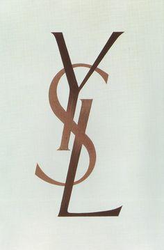 1962 - Original YSL Logo by Cassandre