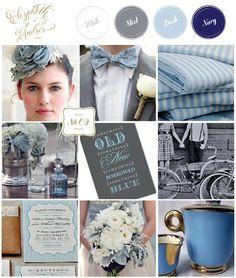 Elizabeth Andrés Designs: Inspiration Board | Karen and Ryans Custom Invitation