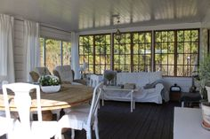 Sally's house: the outdoor room