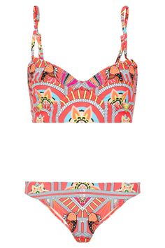 Mara Hoffman|Ananda printed underwired bikini|NET-A-PORTER.COM