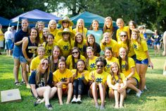 Lady Choctaws Soccer Team at the Football Tailgate!