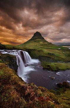 The Kirkjufell, Iceland ~