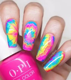 coffin nails designs summer Coffin Nails Designs Summer, Cute Acrylic Nail Designs, Pretty Nail Designs, Gel Toe Nails, Glow Nails, Gel Nail, Shellac, Summer Acrylic Nails, Best Acrylic Nails