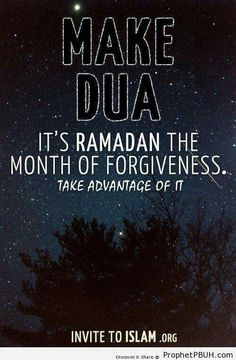 Ramadhan - The Month of Forgiveness