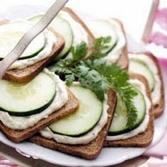 Cucumber Sandwiches @keyingredient