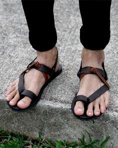 Sandalias gladiador de tres por sixthempire en Etsy